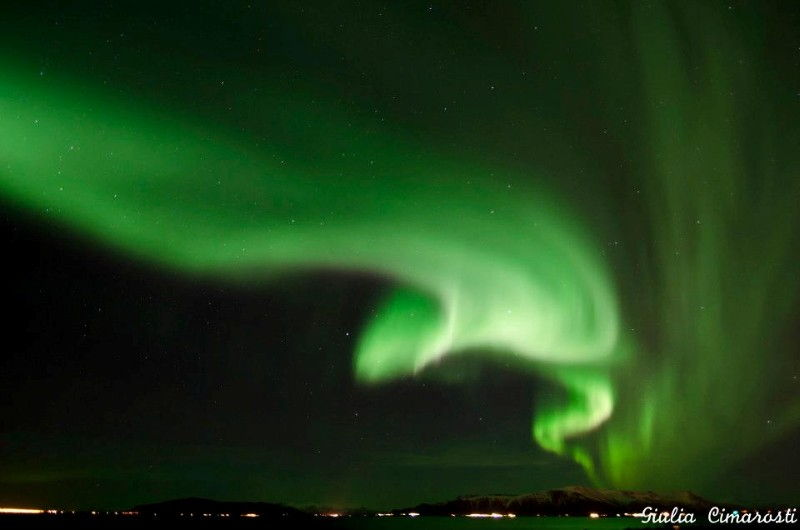 Travel Photo Roulette Northern Lights in Reykjavi Iceland - Travel Reportage